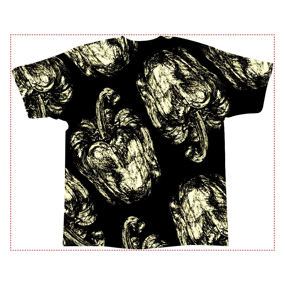 パプリカ 全面インクジェットtシャツ Xl オリジナルtシャツを簡単自作 無料販売up T 最安値