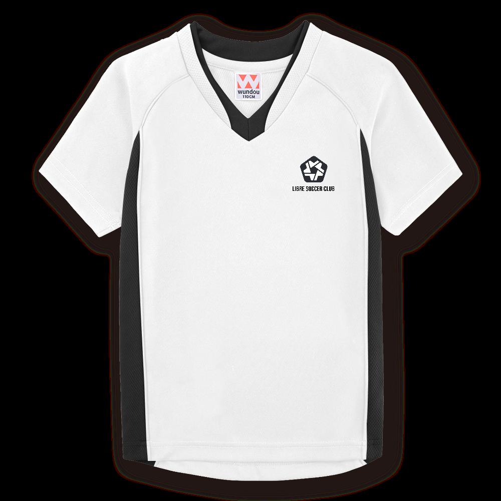 りーぶるサッカー部のオリジナルサッカーユニフォーム(ホワイト)