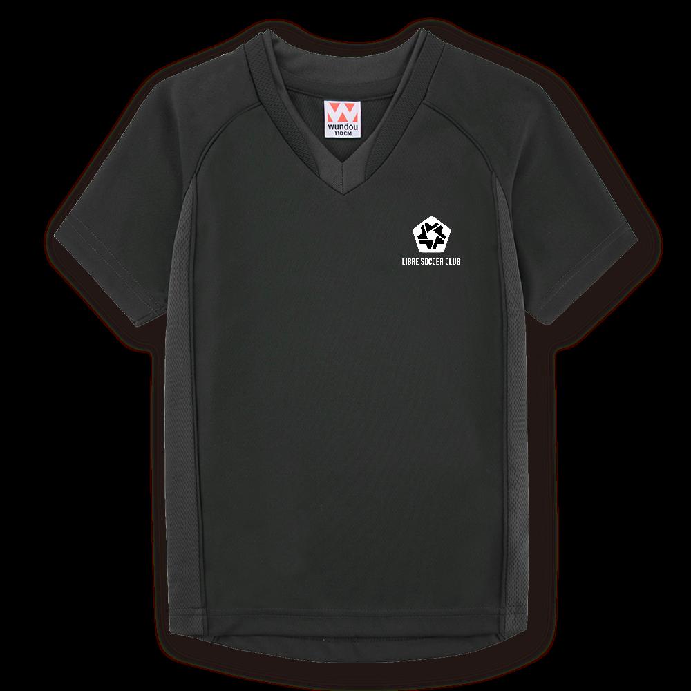 りーぶるサッカー部のオリジナルサッカーユニフォーム(ブラック)