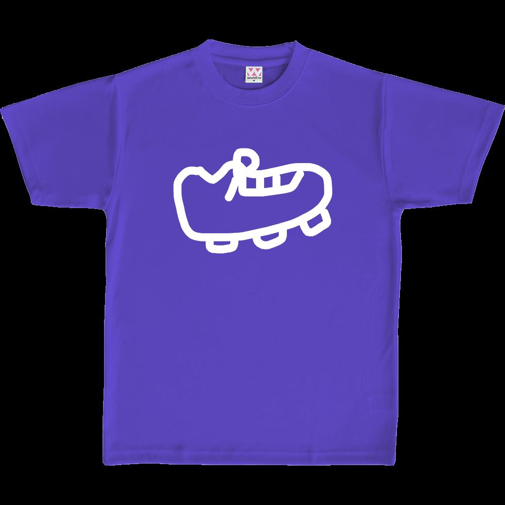 りーぶるサッカー部のオリジナルスパイクデザインTシャツ(ラベンダー)